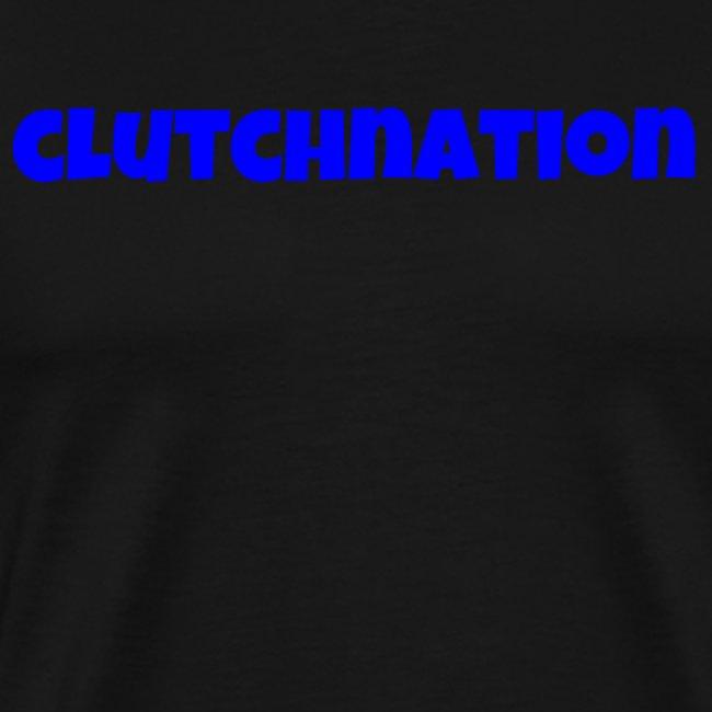 clutch nation blue luckiest font