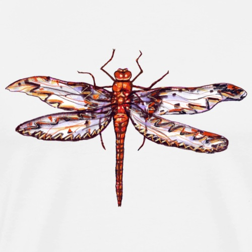 Dragonfly red - Men's Premium T-Shirt