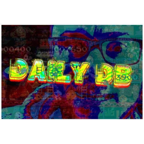 daily db poster - Men's Premium T-Shirt