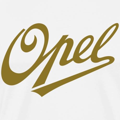 Opel Logo 1909 - Men's Premium T-Shirt