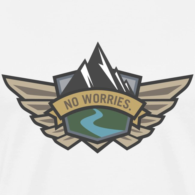 No Worries - Outdoor Adventure Logo