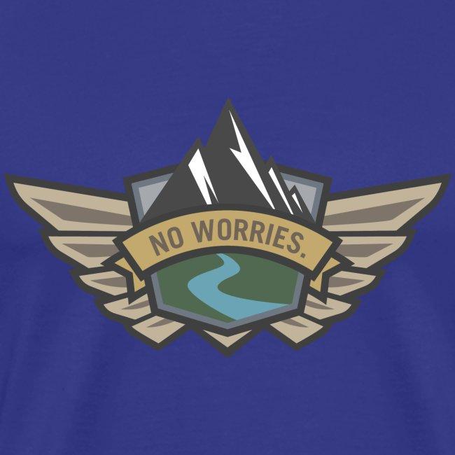No Worries - Outdoor Adventure Logo