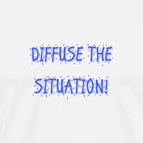 DIFFUSE BLUE - Men's Premium T-Shirt