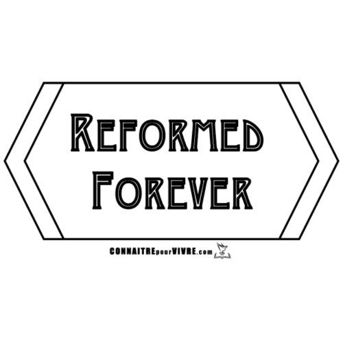 Reformed Forever [Noir] - T-shirt premium pour hommes