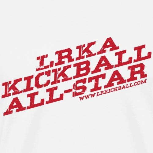 All Star Red - Men's Premium T-Shirt