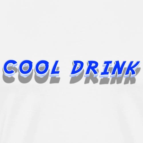 Cool Drink - Men's Premium T-Shirt