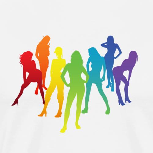 7 Ladies - Men's Premium T-Shirt