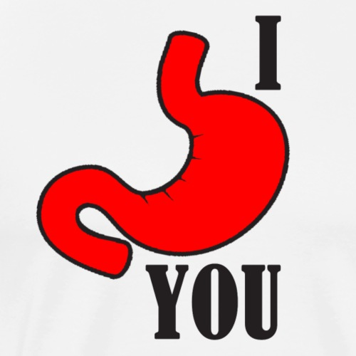i stomach you - Men's Premium T-Shirt