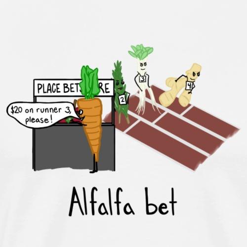 Alfalfa Bet - Men's Premium T-Shirt