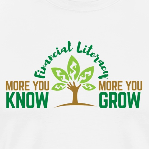 More you Know More you Grow - Men's Premium T-Shirt