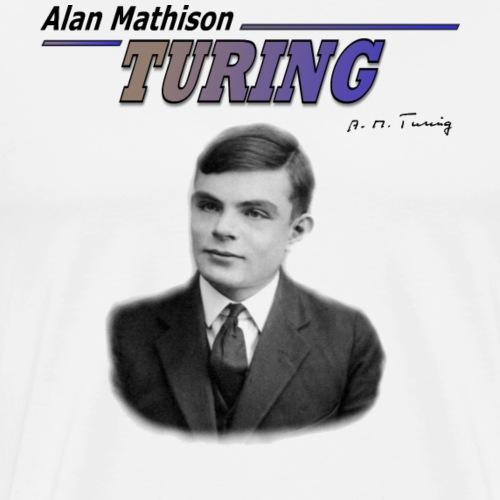 Alan Turing - Men's Premium T-Shirt