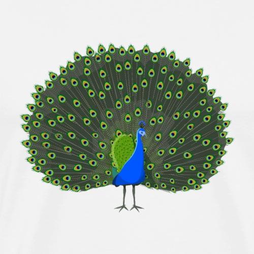 Indian Peacock - Men's Premium T-Shirt
