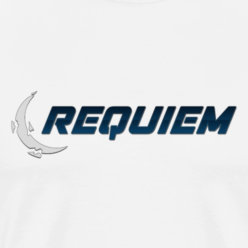 Requiem Text Logo - Men's Premium T-Shirt