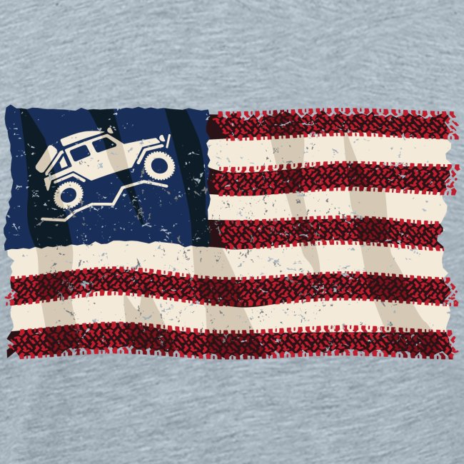 American Off Road 4x4 Overland Flag