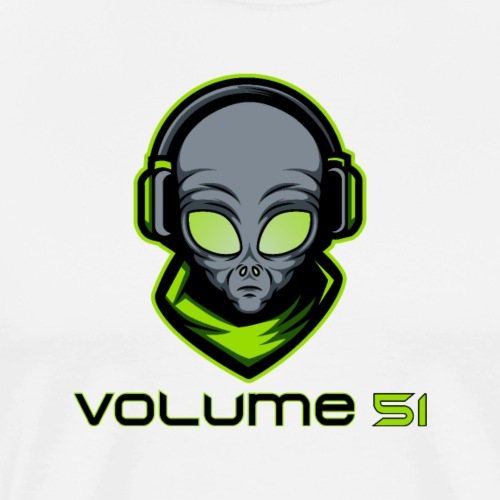 Volume 51 Text Logo - Men's Premium T-Shirt