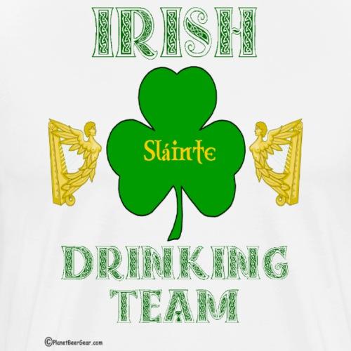Irish Drinking Team - Men's Premium T-Shirt