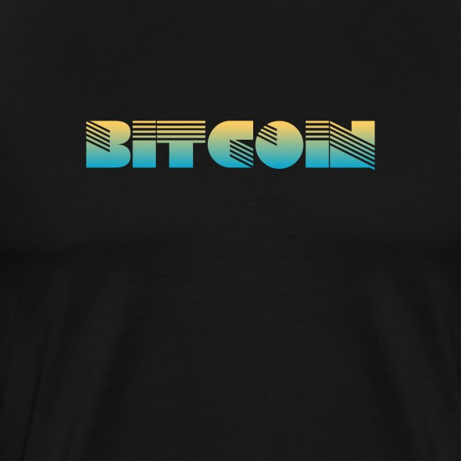 Bitcoin Art Deco Design