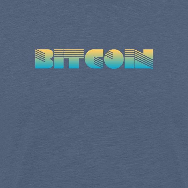 Bitcoin Art Deco Design