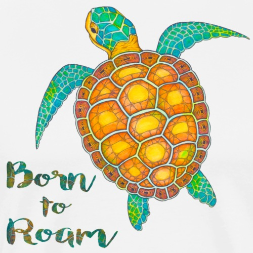 Seaturtle born to roam