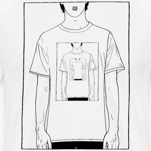 Recursion   Loop   Repeat design   Be creative - Men's Premium T-Shirt