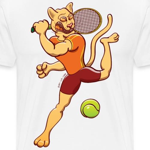 Puma Performing Tennis Smash - Men's Premium T-Shirt