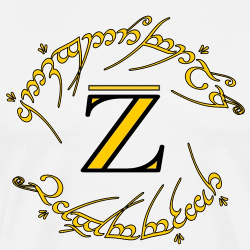 The One Ring (the integral closure of Z) - v2.0 - Men's Premium T-Shirt