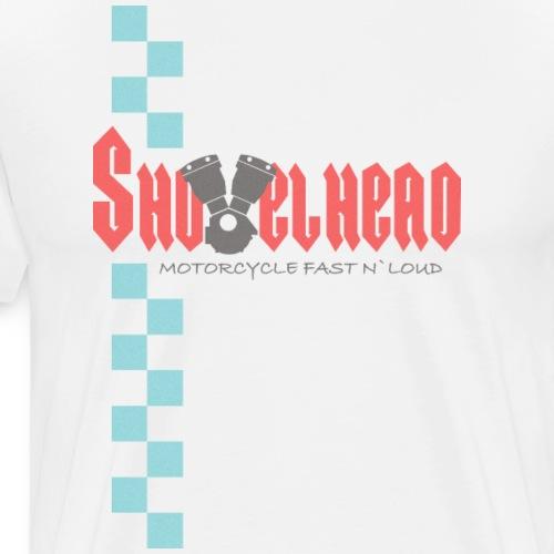 Shovelhead Race - Motorcycle Fast N`Loud - Men's Premium T-Shirt