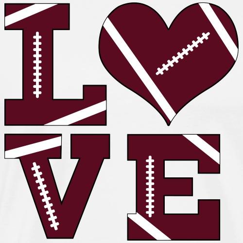 Football Love - Men's Premium T-Shirt
