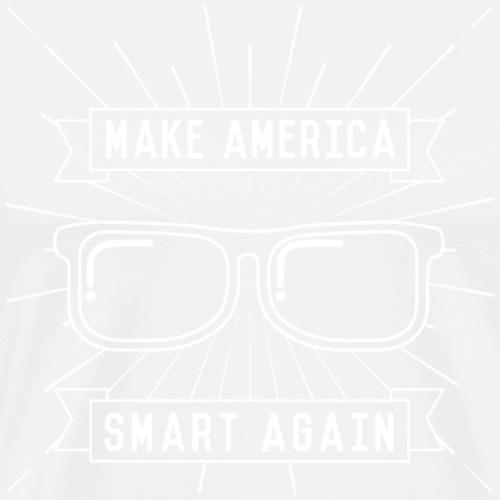 Make America Smart Again - Men's Premium T-Shirt
