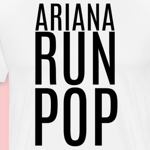Ariana Run Pop - Men's Premium T-Shirt