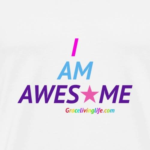 I Am Awesome - Men's Premium T-Shirt