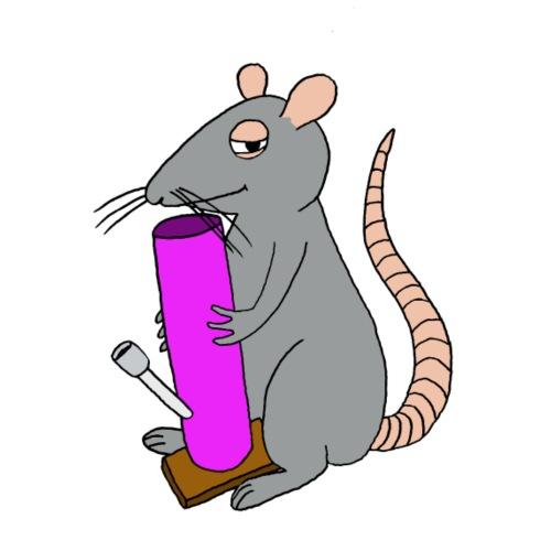 weed rat - Men's Premium T-Shirt
