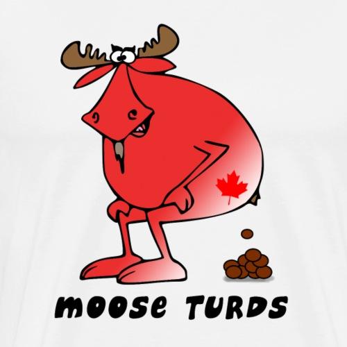 Moose Turds - Men's Premium T-Shirt