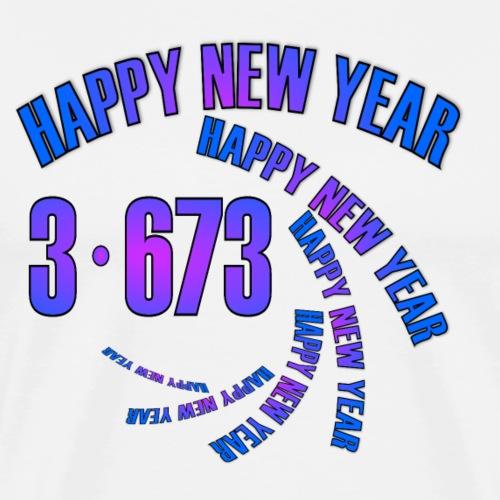 Happy New Year 2019! - Men's Premium T-Shirt
