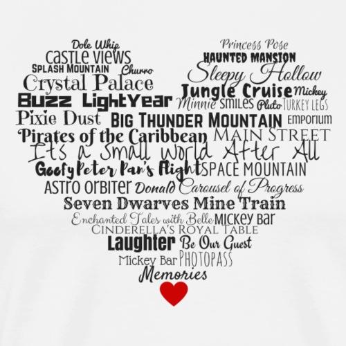 Magic Kingdom Love - Men's Premium T-Shirt