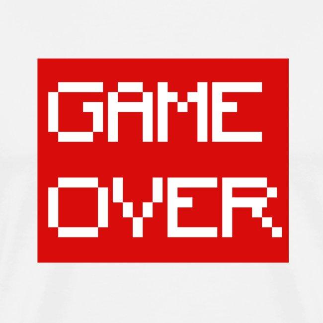 5cgaming Game Over Png Mens Premium T Shirt