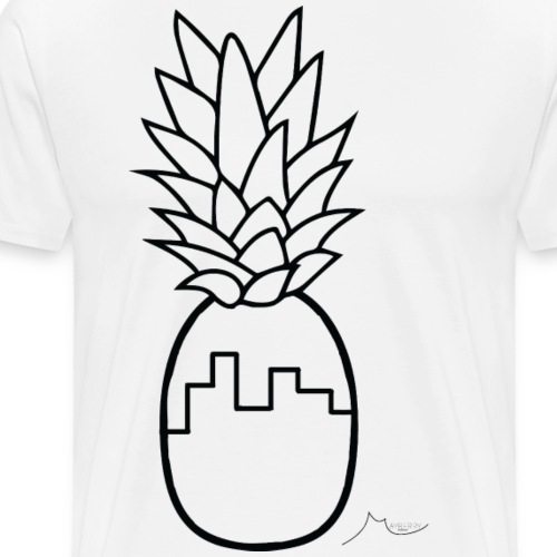 City PineApple | Limited ♕ - Men's Premium T-Shirt