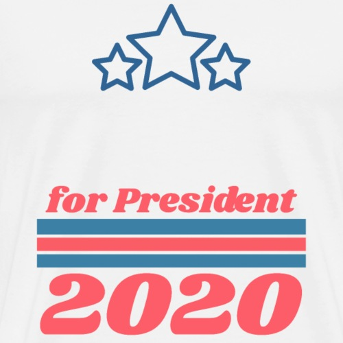 For President 2020 | Add Your Own Name Text - Men's Premium T-Shirt