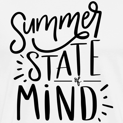 Summer State of Mind Cute Teacher T-shirt - Men's Premium T-Shirt