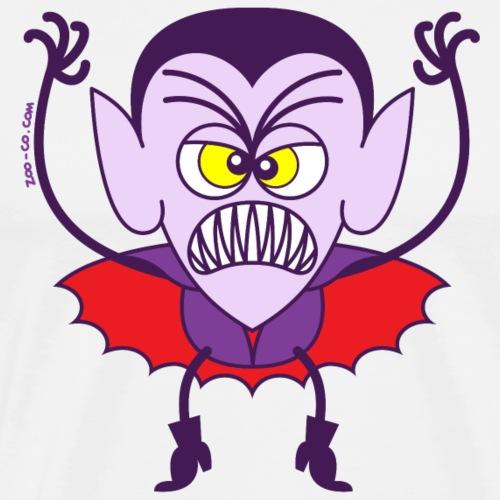 Scary Halloween Dracula - Men's Premium T-Shirt
