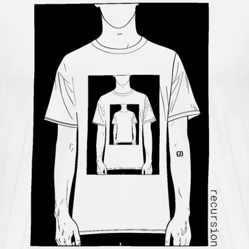 Recursion   Geek contest   Art   Loop - Men's Premium T-Shirt