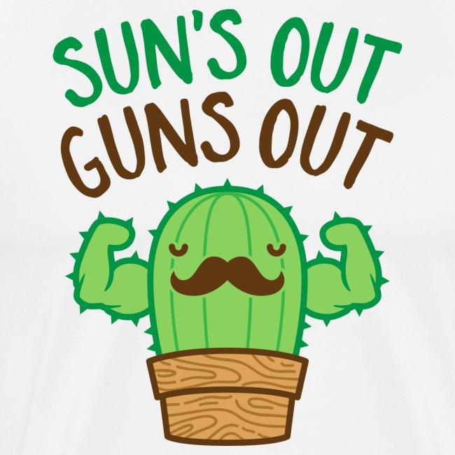 Sun's Out Guns Out Macho Cactus