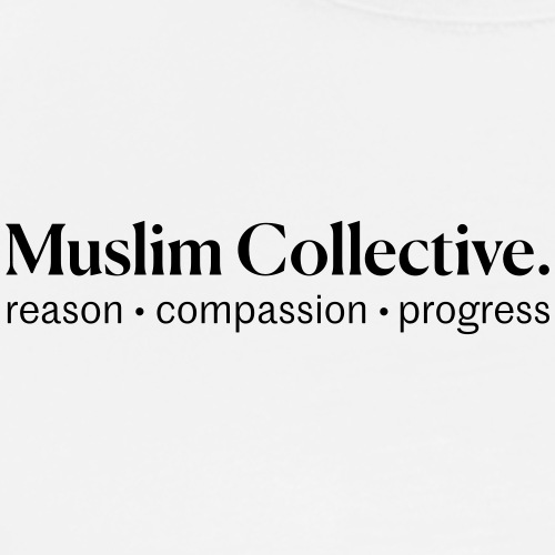 Muslim Collective Logo + tagline - Men's Premium T-Shirt