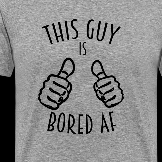 This Guy is Bored As F*#k