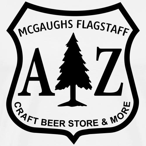 McGaughs Flagstaff Department of Beer-Culture - Men's Premium T-Shirt