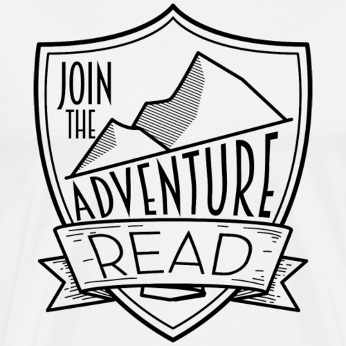 Join the Adventure - Read Teacher T-Shirts - Men's Premium T-Shirt