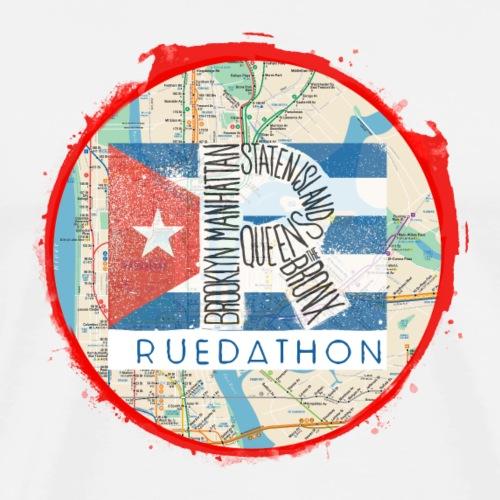 RUEDATHON tee shirt (red) - Men's Premium T-Shirt