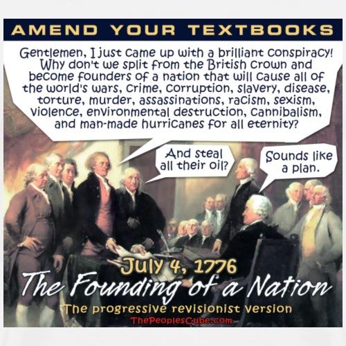 Founding Fathers Revised - Men's Premium T-Shirt