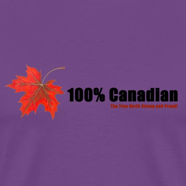 100% Canadian