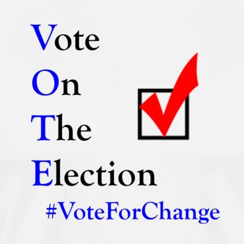 VoteForChange2 - Men's Premium T-Shirt